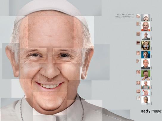 Getty Images Print Ad - Pope Francis