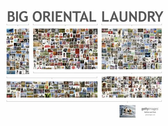 Getty Images Print Ad -  Laundry