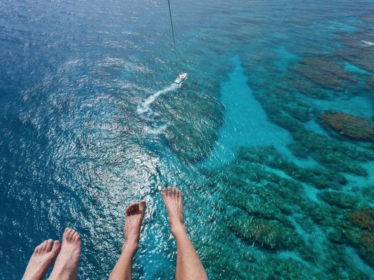 Come parasail away