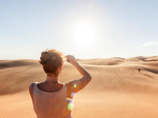 Sand and sun