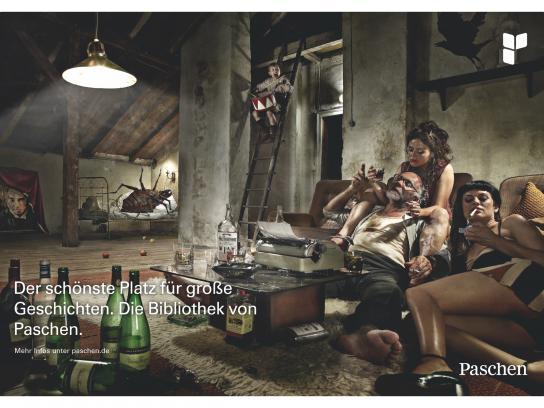 Paschen Print Ad -  Garret