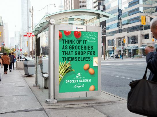 Grocery Gateway Outdoor Ad - Think Of It