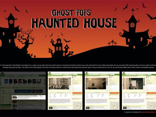 Ghost Pops Digital Ad - Haunted House