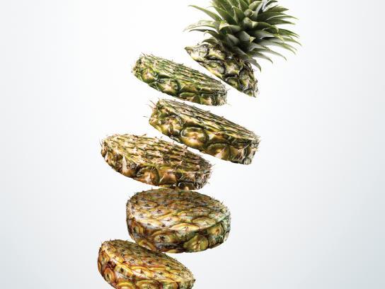 Glad Print Ad -  Pineapple