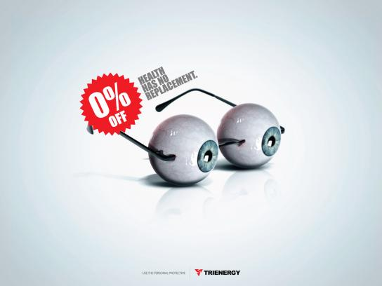 Trienergy Print Ad -  Glasses