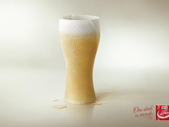 Foxy Print Ad -  Glass, 1
