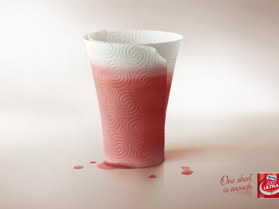 Foxy Print Ad -  Glass, 2