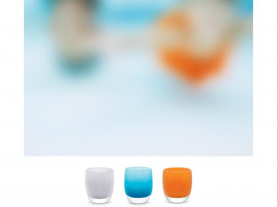 glassybaby Outdoor Ad -  What do hue see, 1