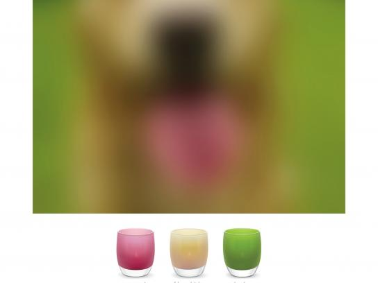 glassybaby Outdoor Ad -  What do hue see, 3