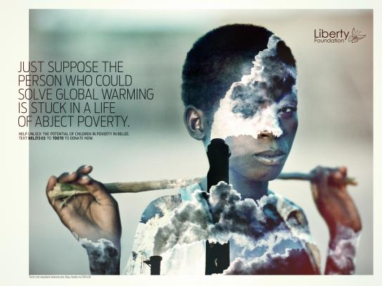 Liberty Foundation Print Ad -  Global Warming