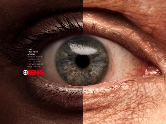 Globo News Print Ad - Point of view, 2