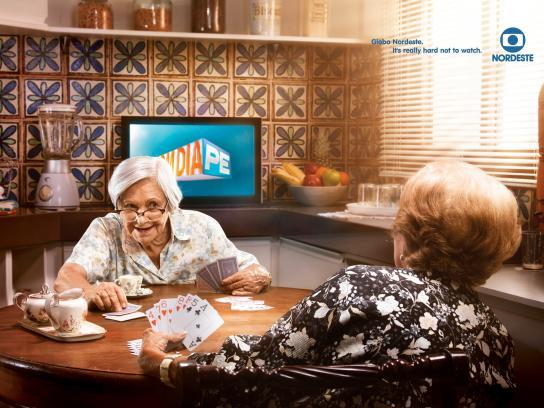 Globo Nordeste Print Ad -  Card game