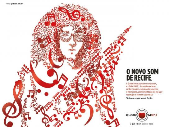 Portal MaisAB Print Ad -  The new sound, Maracatu