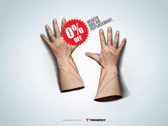 Trienergy Print Ad -  Gloves