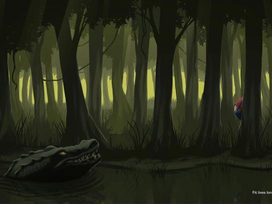 GNC Print Ad -  Swamp