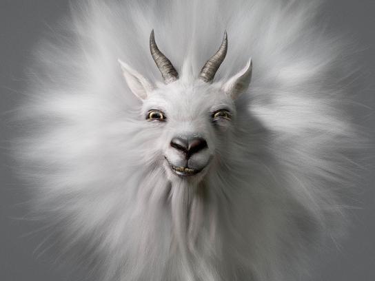 Mitsubishi Print Ad - Goat