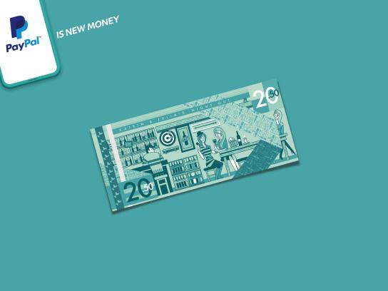 PayPal Print Ad - PayPal is New Money, 3