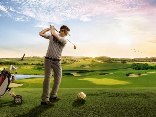 Mademsa Print Ad -  Golf