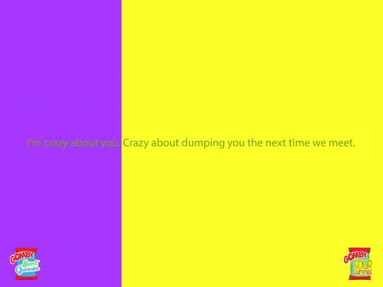 Gomby Print Ad -  Crazy