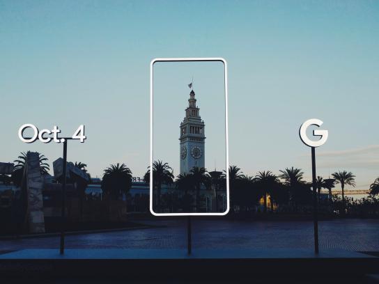 Google Outdoor Ad - Pixel, 4