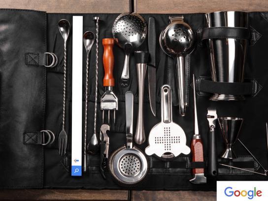 Google Print Ad - Mixologist
