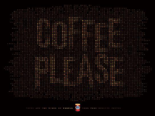 Goya Print Ad - Coffee please