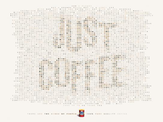 Goya Print Ad - Just coffee