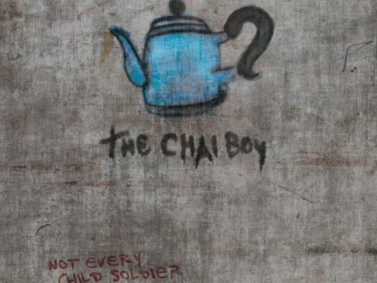 Romeo Dallaire Child Soldiers Initiative Print Ad -  The Chai Boy