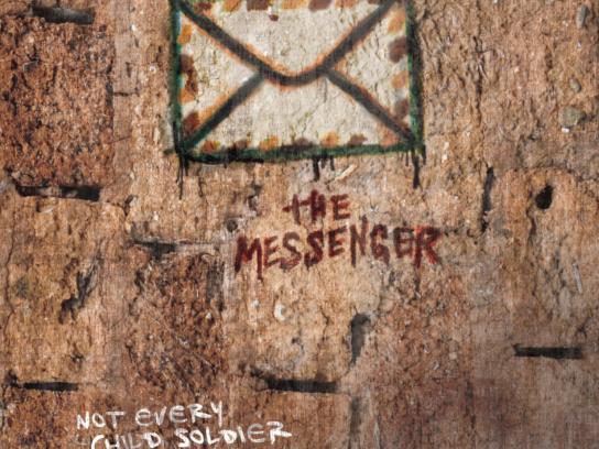 Romeo Dallaire Child Soldiers Initiative Print Ad -  The Messenger