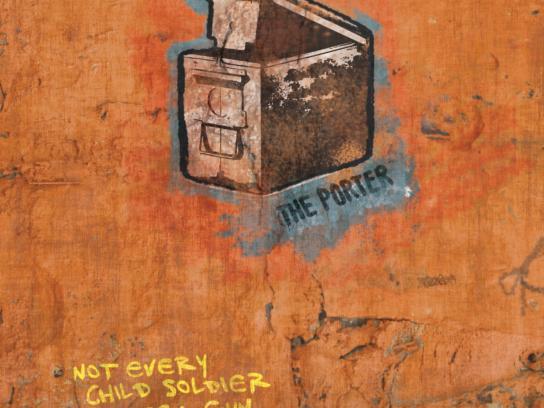 Romeo Dallaire Child Soldiers Initiative Print Ad -  The Porter