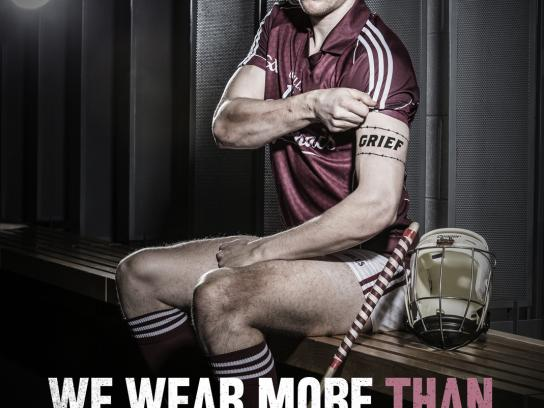 Gaelic Players Association Print Ad -  We wear more, 3