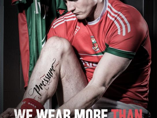 Gaelic Players Association Print Ad -  We wear more, 4