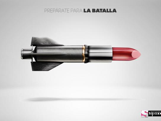 Mexico's Next Top Model Print Ad -  Prepare for battle, 2