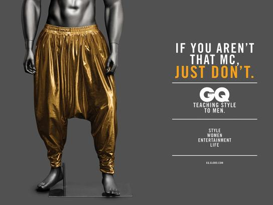 GQ Print Ad -  Hammer