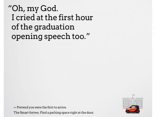 Smart Print Ad - Graduation