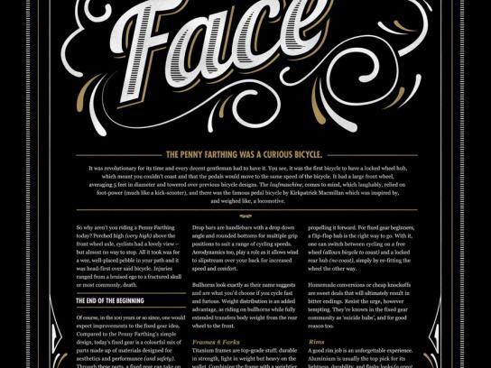 Grafa Print Ad -  The Penny Farthing
