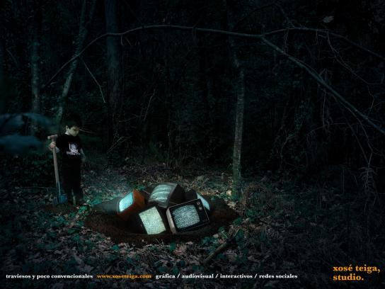 Xose Teiga Studio Print Ad -  Unconventional, 1
