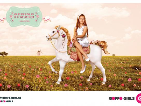 Goffo Girls Print Ad -  Field