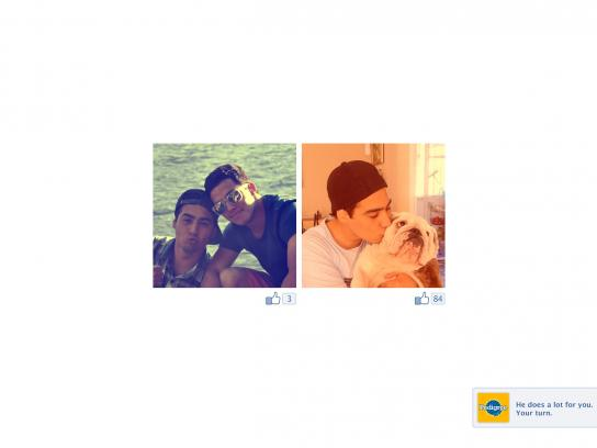 Pedigree Print Ad -  Facebook, 2