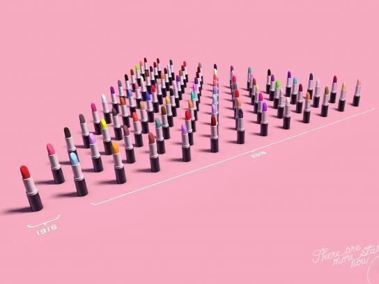 Aquamatic Print Ad - Lipsticks