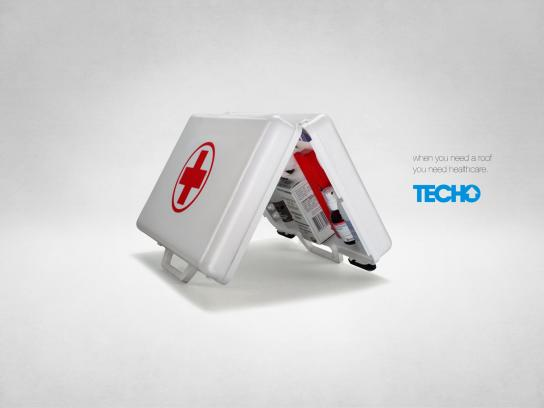 TECHO Paraguay Print Ad -  Healthcare