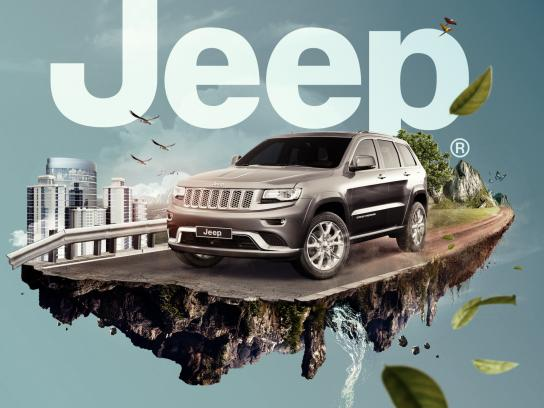 Jeep Print Ad - Grand Cherokee