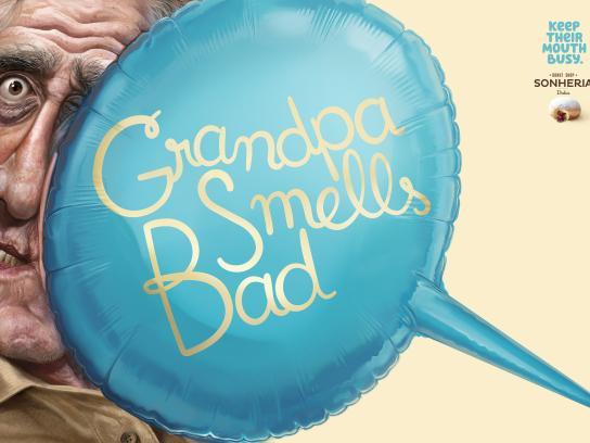 Sonheria Dulca Print Ad - Grandpa