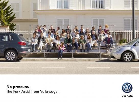 Volkswagen Outdoor Ad -  Grandstand