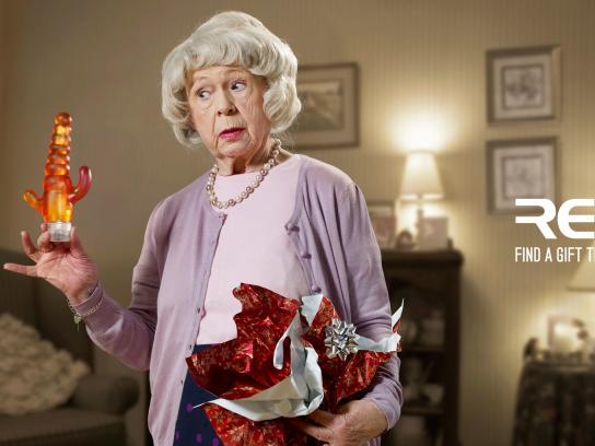 Red 5 Print Ad -  Granny
