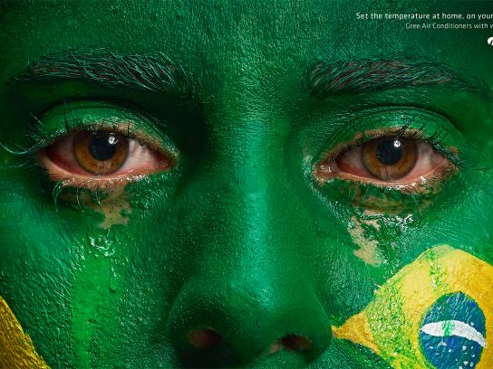 Gree Print Ad - Gree Wi Fi Air Conditioner - Brazil