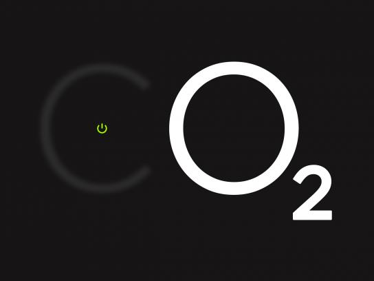 Ecotricity Print Ad - CO2