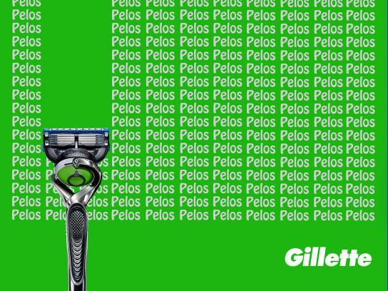 Gillette Print Ad - The Best Cut, 2