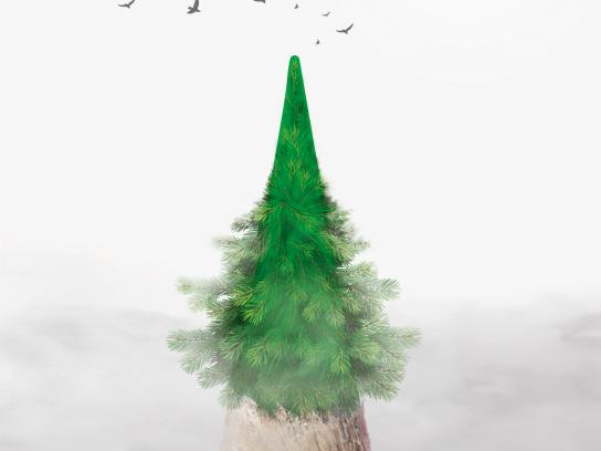 Faber Castell Print Ad - Green Nature