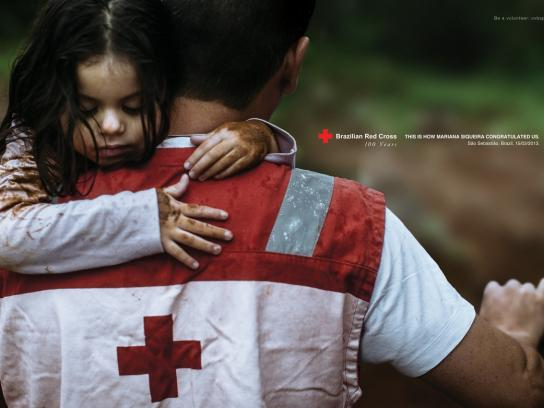 Red Cross Print Ad -  Greetings, 1